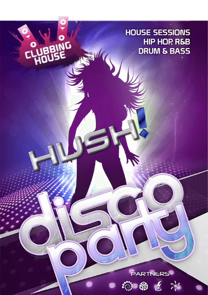 a flyer for a club party